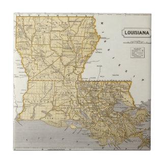 Louisiana Atlas Map Tile