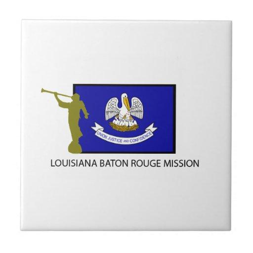 Louisiana Baton Rouge Mission Lds Ctr Tile Zazzle
