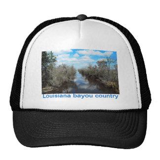 Louisiana bayou country cap trucker hat