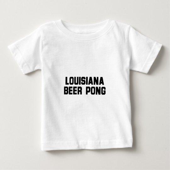 Louisiana Beer Pong Baby T-Shirt