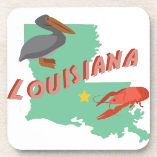 Louisiana Beverage Coaster