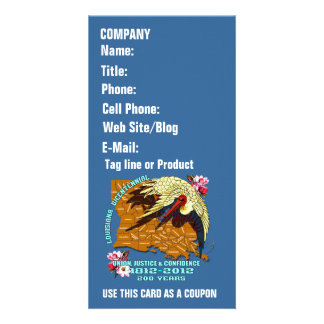 Louisiana Bicentennial 1812-2012 Please View Hints Customized Photo Card