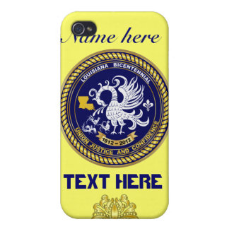 Louisiana Bicentennial 50 Colors Please View Hints iPhone 4 Cases