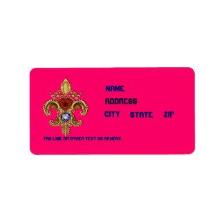 Louisiana Bicentennial 50 Colors Please View Hints Address Label