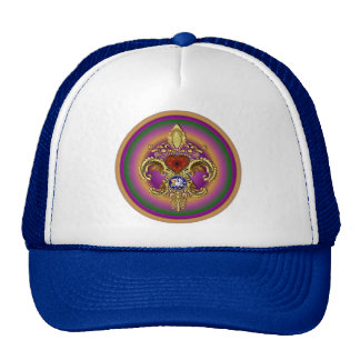 Louisiana Bicentennial Flor de lis View Hints Hats