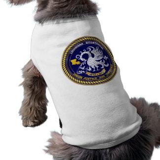 Louisiana Bicentennial Mardi Gras Logo View Hint Doggie T-shirt