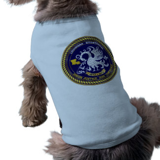 Louisiana Bicentennial Mardi Gras Logo View Hint Pet Shirt