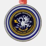 Louisiana Bicentennial Mardi Gras Logo View Hint Christmas Ornaments