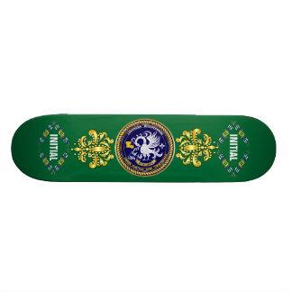Louisiana Bicentennial Mardi Gras Logo View Hint Skateboard