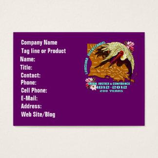 Louisiana Bicentennial Mardi Gras Party See Notes Business Card