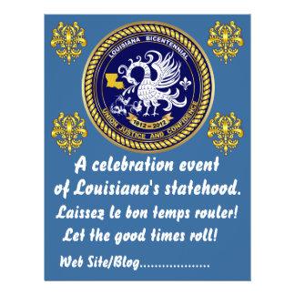 Louisiana Bicentennial  Mardi Gras Party See Notes Flyer