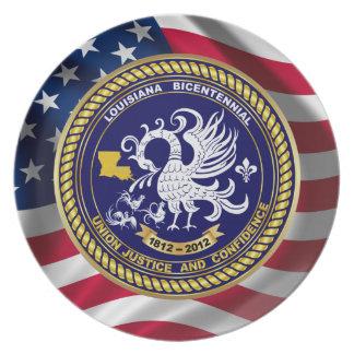 Louisiana Bicentennial Mardi Gras Party See Notes Party Plates