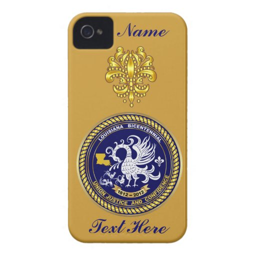 Louisiana Bicentennial Over 30 Colors See Notes Case-Mate iPhone 4 Case