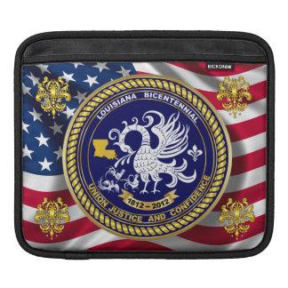 Louisiana Bicentennial Over 30 Colors See Notes iPad Sleeve