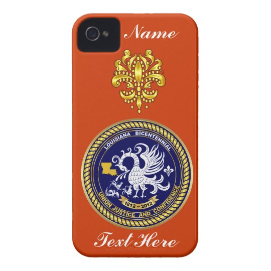 Louisiana Bicentennial Over 30 Colors See Notes iPhone 4 Case-Mate Case