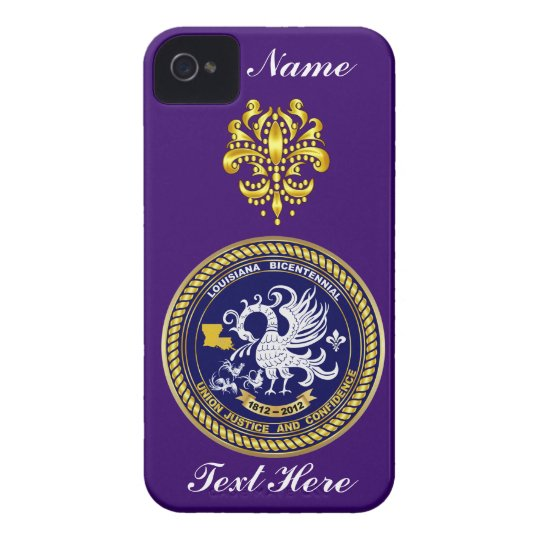 Louisiana Bicentennial Over 30 Colors See Notes iPhone 4 Cover