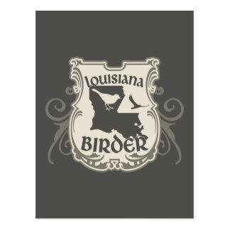 Louisiana Birder Postcard