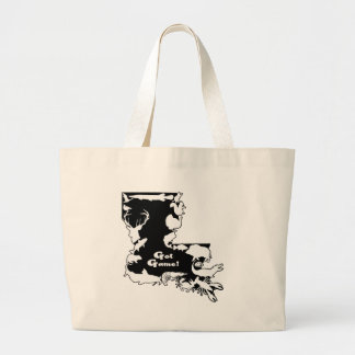 Louisiana BLACK AND WHITE GOT GAME ONLY.png Bag