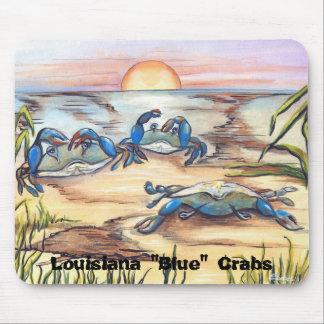 "Louisiana ""Blue"" Crabs Mouse Pad"