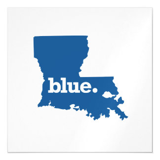 LOUISIANA BLUE STATE MAGNETIC CARD