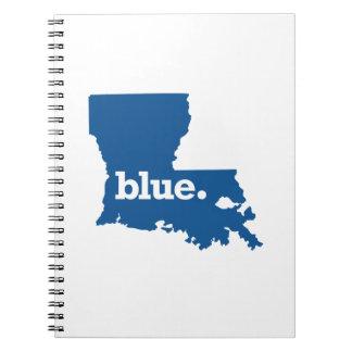 LOUISIANA BLUE STATE NOTEBOOK