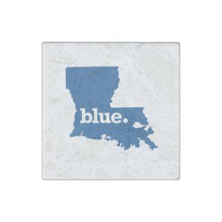 LOUISIANA BLUE STATE STONE MAGNET