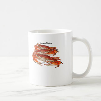 Louisiana Boiled Blue Crabs Coffee Mug