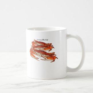 Louisiana Boiled Blue Crabs Coffee Mugs