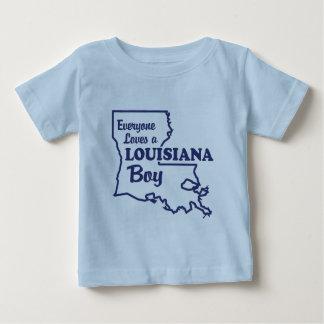 Louisiana Boy Baby T-Shirt