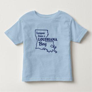 Louisiana Boy Toddler T-shirt