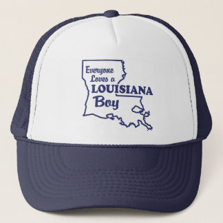 Louisiana Boy Trucker Hat