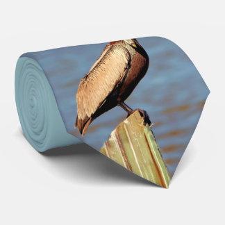 Louisiana Brown Pelican 4.jpg Neck Tie