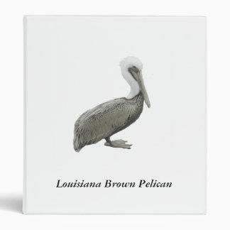 Louisiana Brown Pelican Binder