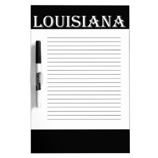 Louisiana Brown Pelican Dry Erase Board