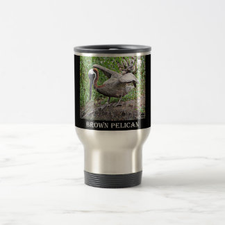 Louisiana Brown Pelican Travel Mug