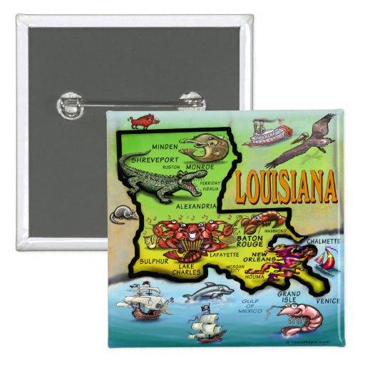 Louisiana Pins