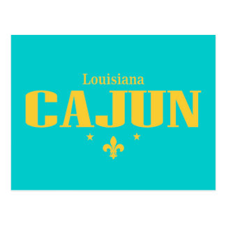 Louisiana Cajun Postcard