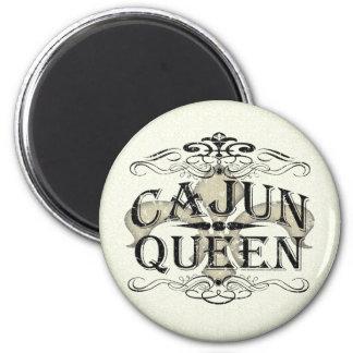 Louisiana Cajun Queen 2 Inch Round Magnet