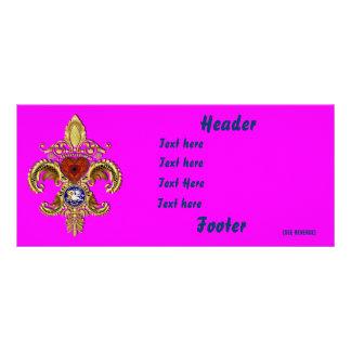 Louisiana  Card Rack Horizontal Over 50 Colors