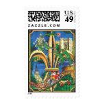 Louisiana Christmas Postage Stamp