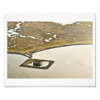 Louisiana Coastal Wetlands Castle Photograph