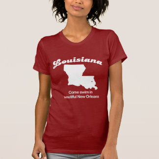 Louisiana - Come swim beautiful New Orleans T-shir T-Shirt