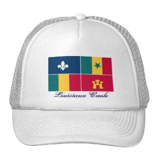 Louisiana-Creole_m,     criollo de Luisiana Gorra