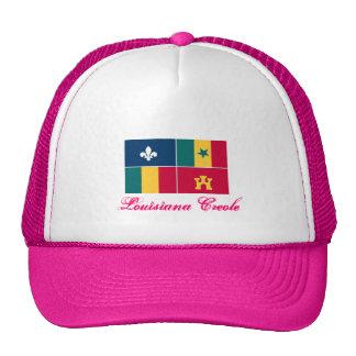 Louisiana-Creole_m, criollo de Luisiana Gorro De Camionero