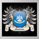 Louisiana Crest Print