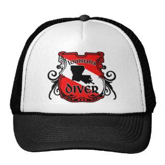 Louisiana Diver Trucker Hat