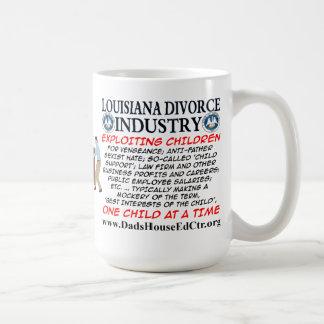 Louisiana Divorce Industry. Coffee Mugs