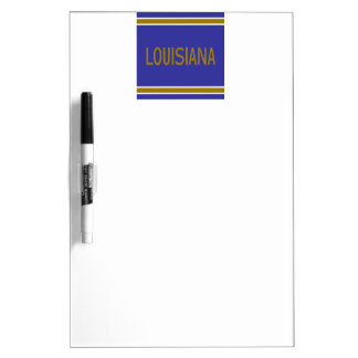 Louisiana Dry Erase Board with Pen