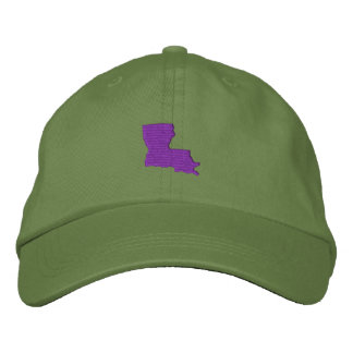 Louisiana Embroidered Baseball Cap