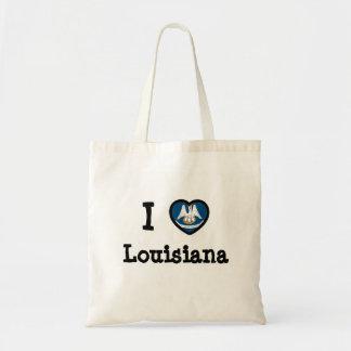 Louisiana Flag Bags